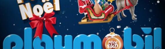 C'est noël avec Playmobil dans la galerie Leclerc Pôle Sud à Basse-Goulaine